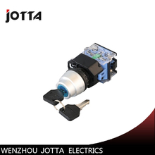 LA38-20Y/31  3 position key-lock maintained  push button switch la38 11y 22 2 position key lock momentary push button switch