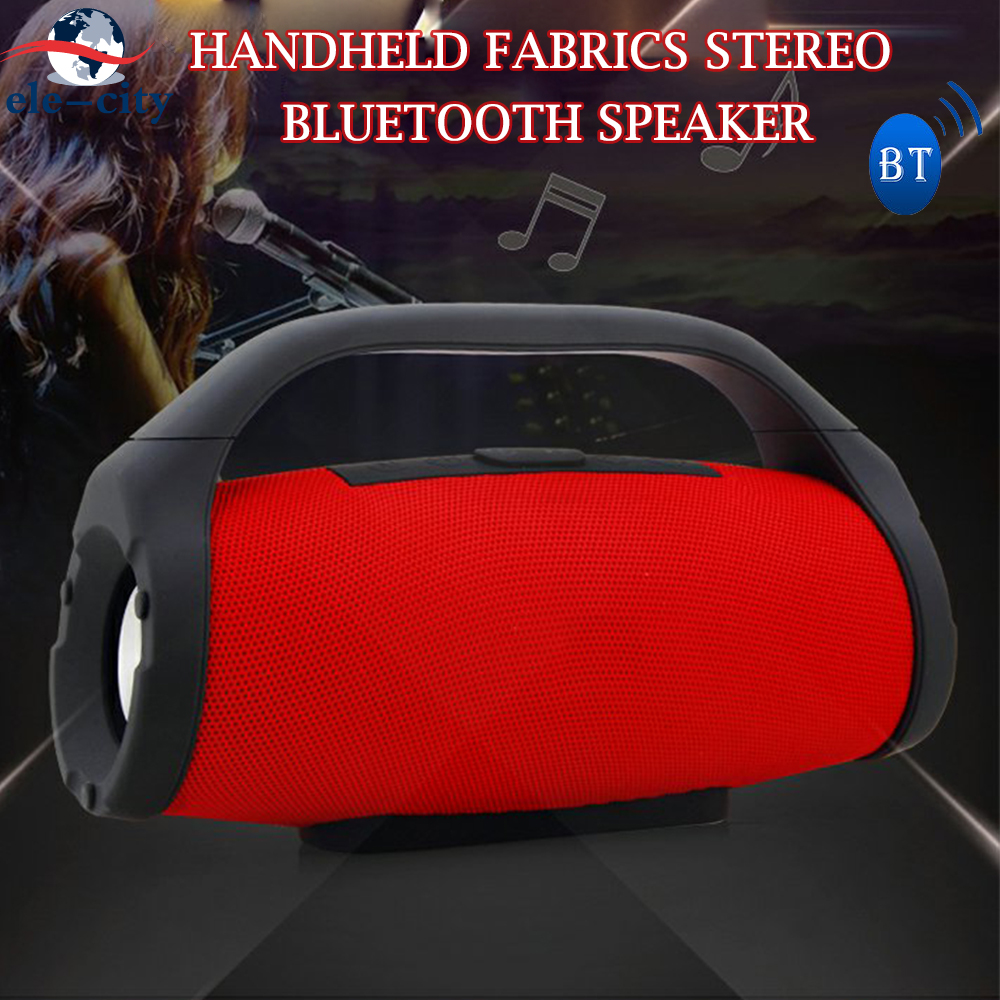 BS-218 Subwoofer Handheld Fabrics TWS True Wireless Stereo HiFi Bluetooth Speaker MP3 Hands Free Call FM Radio AUX TF Power Bank bl 25 smart voice stereo bluetooth speaker with hands free call tf card function