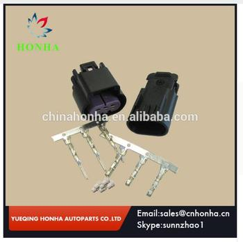 3 Way Black GT 150 Sealed Male and Female Connector w Pins 15326808 & 15326813