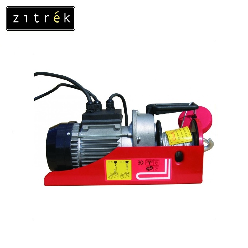 Tal electric stationary PA-1000 H = 12 / 6 m Zitrek Crane pulley Electric chain hoist Fixed hoist Lifting load 12 24vdc 2 speed 2 transmitter 12 channels hoist crane industrial truck radio remote control system controller