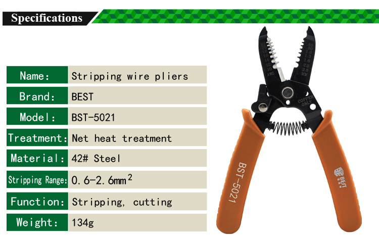 Pliers Wire Stripper Tool Pliers Wire Cutters Electronic Components For BEST-109