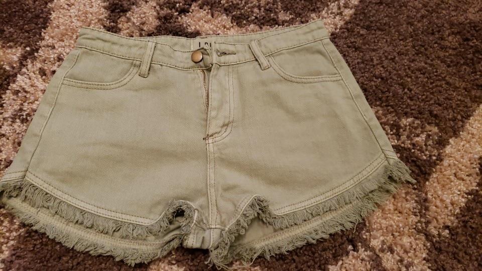 7 Colors Tassel Denim Shorts Women Short Jeans For Women Bottoms Female High Waist Shorts Jeans Feminino Large Size photo review
