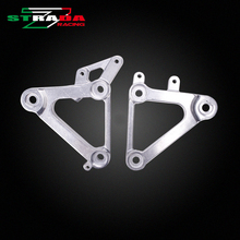 Front Foot Rests Pedal Bracket Triangle Bracket For Honda CBR400RR MC23 CBR400 RR NC23 Motorcycle Parts