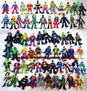 Image 1 - Imaginext, Lot de 10 photos, jouet figurines de Super héros de DC, choix aléatoire, jouet daction, livraison gratuite