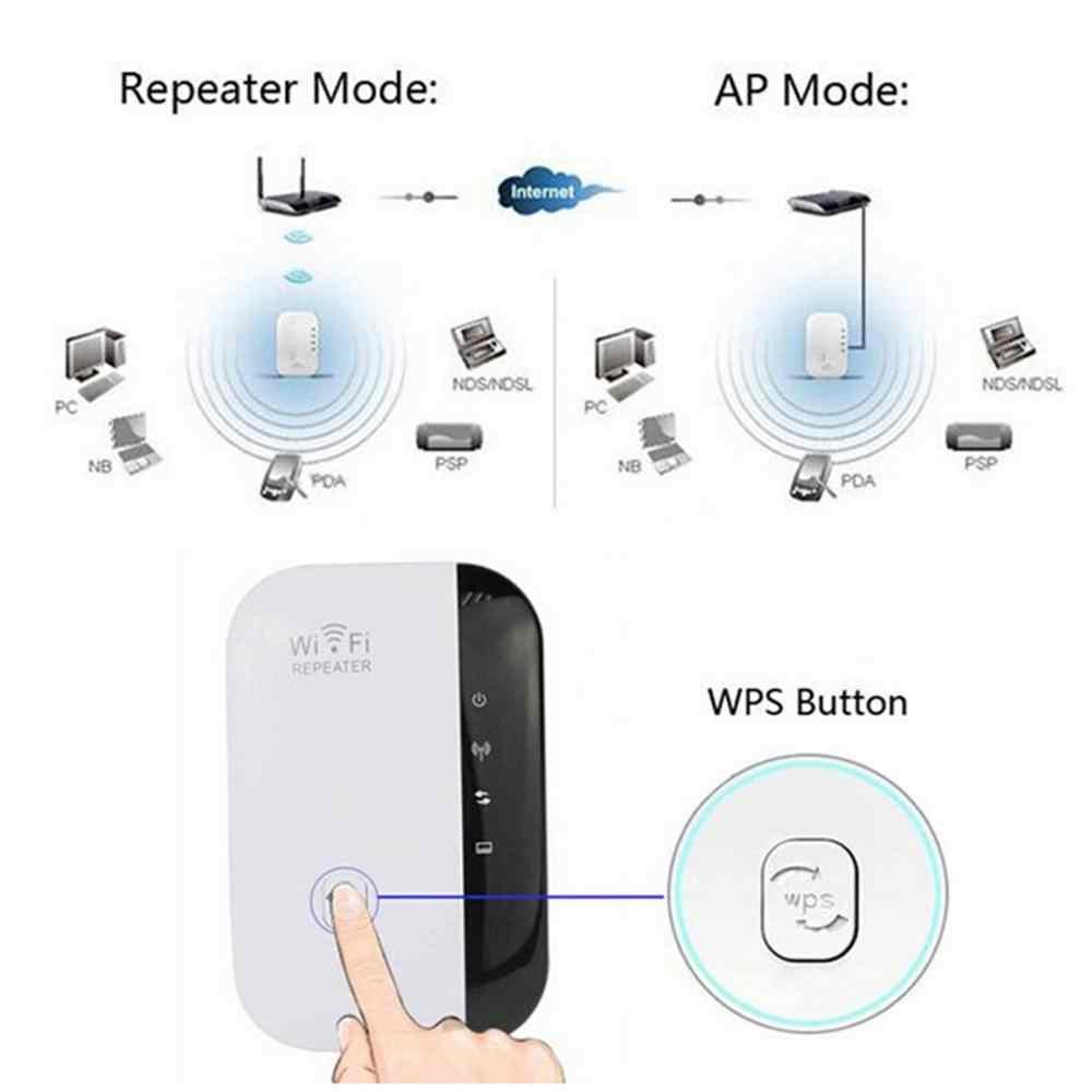 新アップグレード超ミニルーターワイヤレス Wifi リピータ Wi-Fi レンジエクステンダーの無線 Lan 信号アンプブースター WPS 簡単アプリセットアップページ