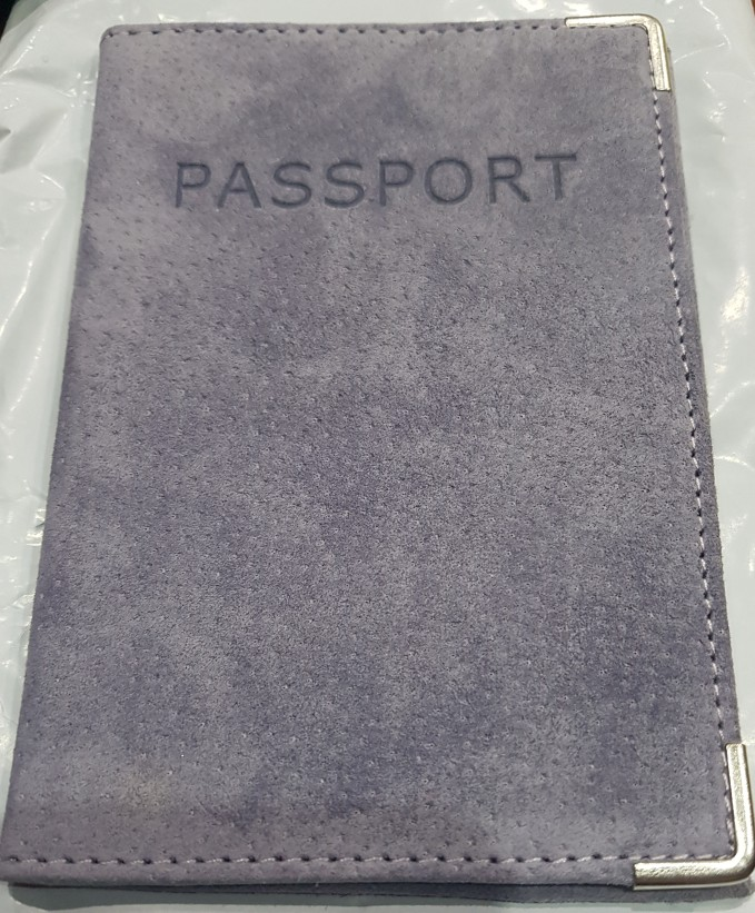 Genuine leather Russia sell pigskin suede High quality business passport cover fashion Card bag Tourism travel Passport Holder photo review