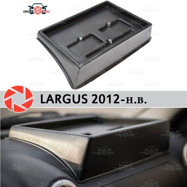 Органайзер на передней панели консоли для Lada Largus 2012-2018 тиснением правильном положении Тюнинг автомобилей аксессуары украшения