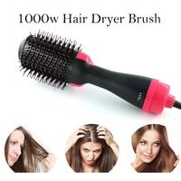 2 In 1 One Step Hair Dryer Brush Negative Ion Hair Dryer Volumizer Electric Hair Curler Straightener Hot Air Hair Brush