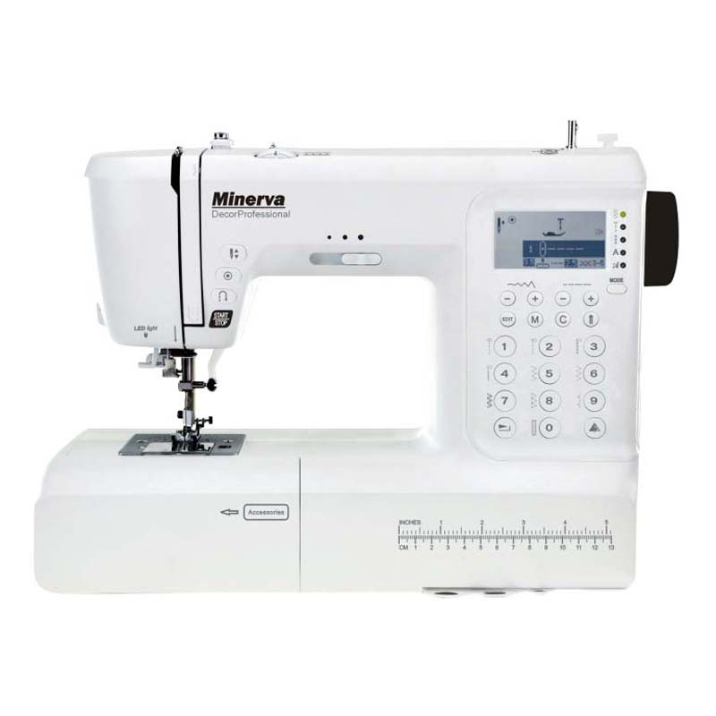 Sewing machine Minerva DecorProfessional sewing machine minerva cs1000pro