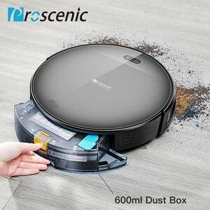Image 4 - مكنسة كهربائية آلية لكنس الأتربة وتنظيف الأتربة موديل Proscenic 800T تعمل بالريموت كنترول 3 في 1