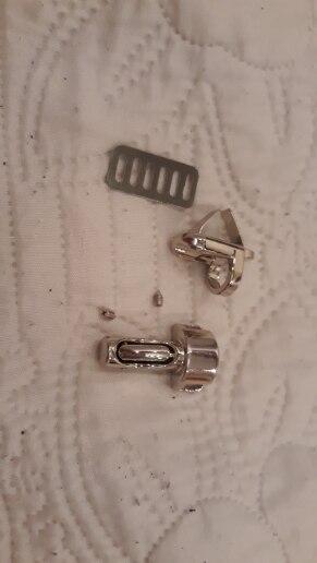 1PC Duurzaam Metalen Sluiting Turn Lock Twist Lock voor DIY Handtas Tas Portemonnee Hardware photo review