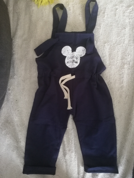 Cotton Baby Boys Pants with Suspenders photo review