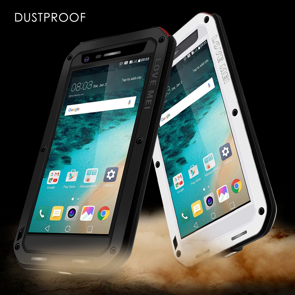 new product be16c ba416 US $35.3  LOVE MEI Metal Waterproof Case for LG G5 SE Cover Shockproof  Dropproof Dustproof Full Protect Phone Case For LG G 5 LGG5 Capa-in Fitted  ...