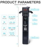 KomShine KFI 35 Optical Fiber Identifier Equal to JDSU FI60/Noyes OFI400C Fiber Identifier Lower Power Indication Free Shipping