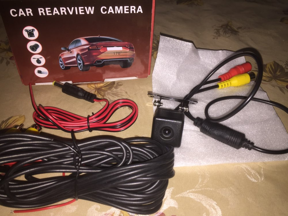 Factory direct sale Car Reversing Camera 170 Degree WaterProof Night Vision Rear View Camera Parking Camera 12V free shipping