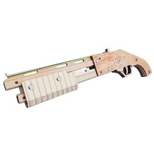 Mossberg 500 Rubber Band gun wooden toys  Wooden Shooting Toy Guns Boys Outdoor Fun Sports For Kids Christmas gift