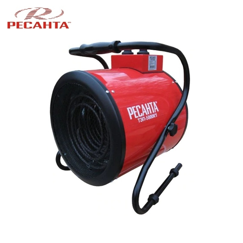 Electric heat gun TEP-5000K1 Hotplate Facility heater Area heater Space heater electric heat gun resanta tep 2000n compact