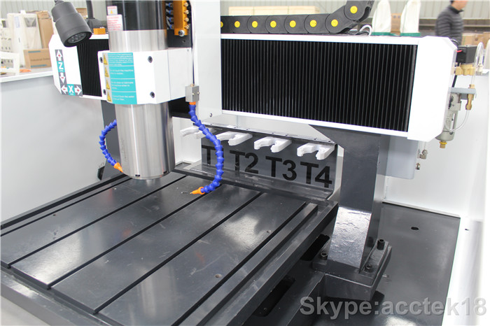 aluminum alloy HOT selling Syntec auto tool changer metal moulding cnc milling machine for Aluminum, Copper, Pharos or Alloy etc (4)