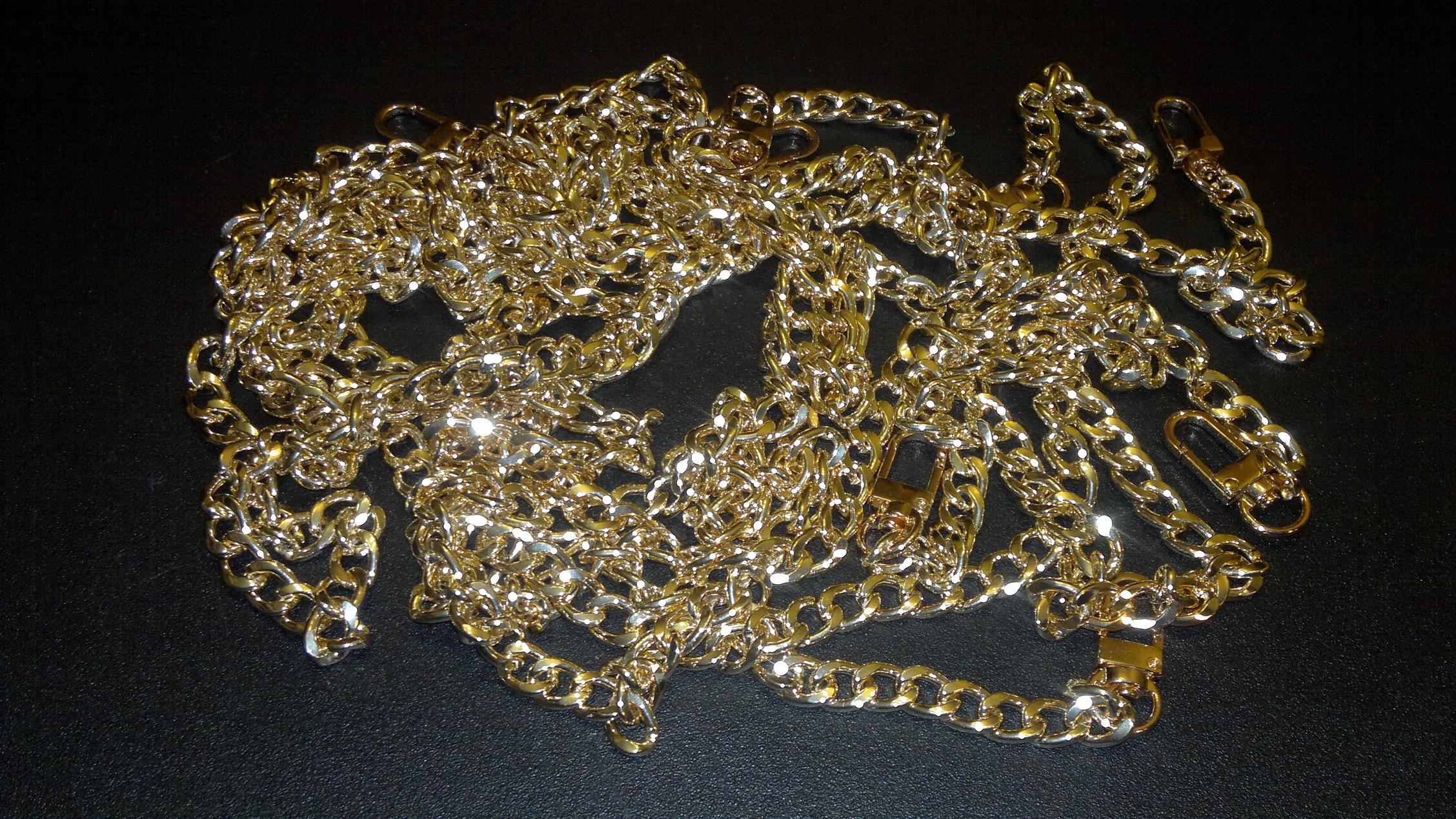 XINGMING Hoge Kwaliteit 120cm Rvs Purse Chain Strap Handvat Schouder Crossbody Handtas Tas Metalen Vervanging 3 Kleur photo review