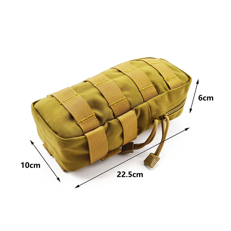 MOLLE Miscellaneous Pouch CORDURA Modular Combat Hunting Camping Climb Tactical Hike Outdoor TW-P009