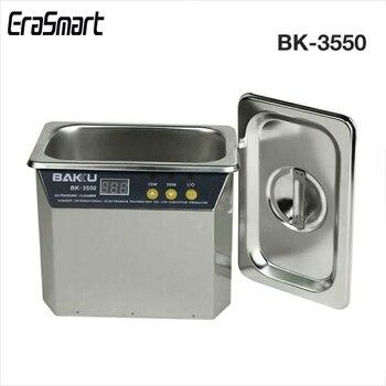 BK-3550 110В/220В из нержавеющей стали 800 мл ультразвуковой очиститель для оборудования связи машина для очистки инструмента
