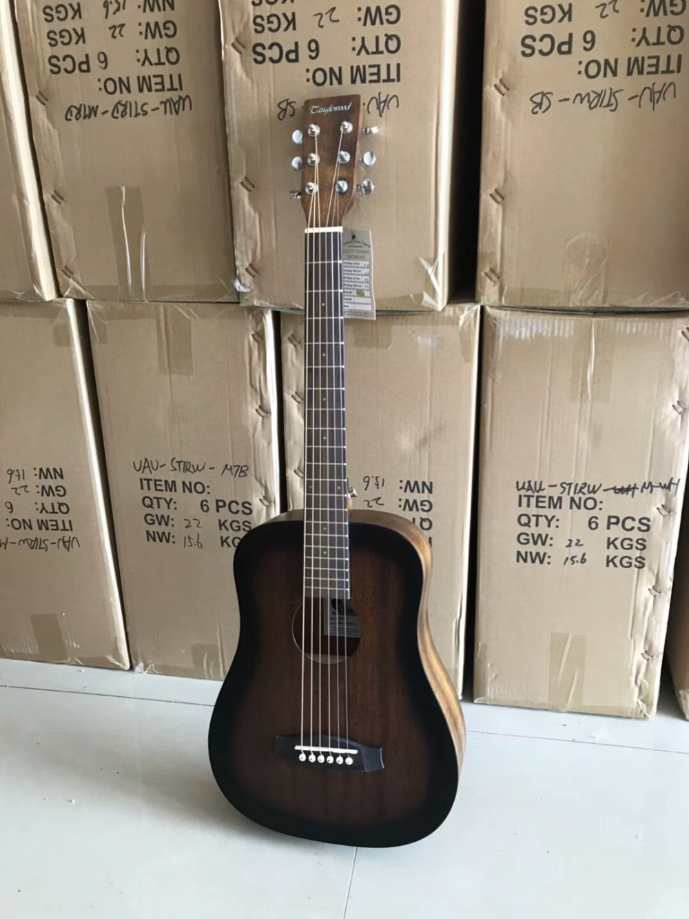 free shipping NEW best OEM price Tanglewood TWCRT Acoustic Guitar Traveller mini portable acoustic travel guitar hercules gs301b travelite acoustic guitar portable travel mini steel stand