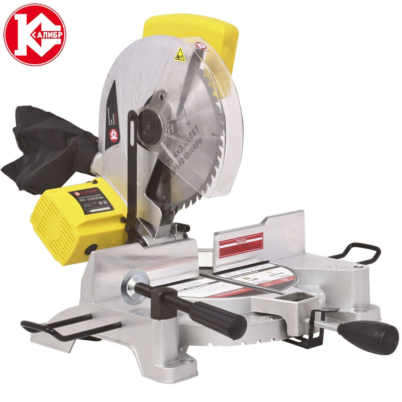 Kalibr PTE-1750/255Am Sliding Compound Miter Saw  Electric Saw Circular Saw Cutting, Wood Machine