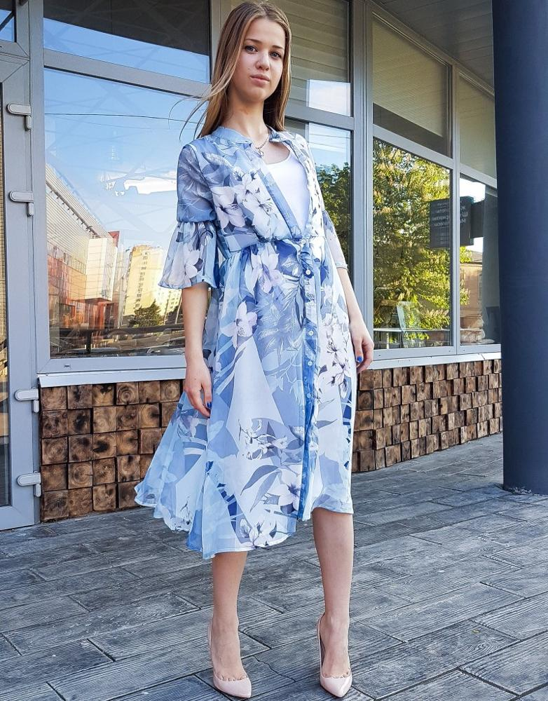 Шифоновое платье с Алиэкспресс
