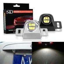 S & D 2 шт. Универсальный Автомобильный внешний задний фонарь Canbus водосветодио дный стойкий светодиодный вспомогательный резервный фонарь Автомобильный свет Поворотная сигнальная лампа замена