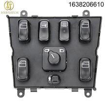 New Master Switch/Power Window Regulator For Mercedes-Benz ML320 ML430 ML55 AMG ML500 1638206610 A1638206610 163 820 66 10 недорого