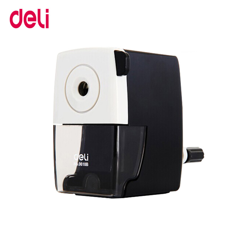 Deli Stationery Pencil Sharpener Office & School Supplies Mechanical Pencil Sharpener Office Accessories Manual Pencil Sharpener