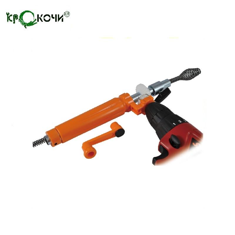 Set Krokochist 9 x 15 Device for connecting a spiral to the screwdriver, a spiral with a nozzle Universal Spiral Clean the clog dlla133p814 common rail injector nozzle suitable for diesel engine a