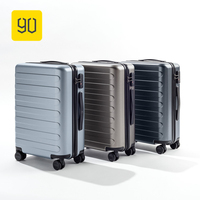 Xiaomi 90FUN Business Travel Dual Function Rolling Luggage with Lock Spinner PC Suitcase Trolley Carry On Travel Bag 20/24/28