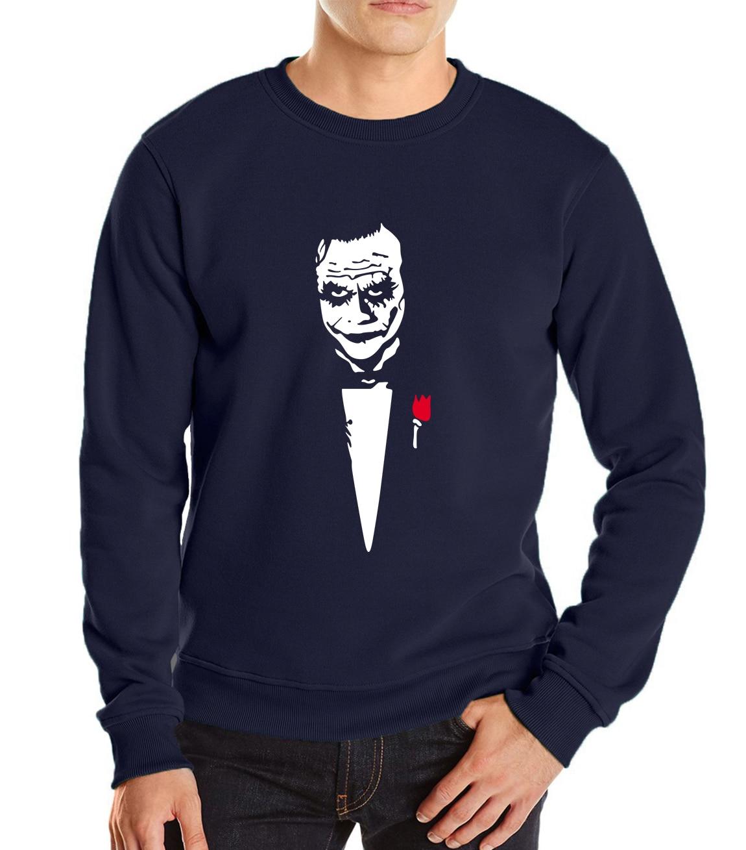 Joker Heath Ledger Why So Serious harajuku tracksuit sweatshirt man The joker father printing men long sleeve fleece hoodies men