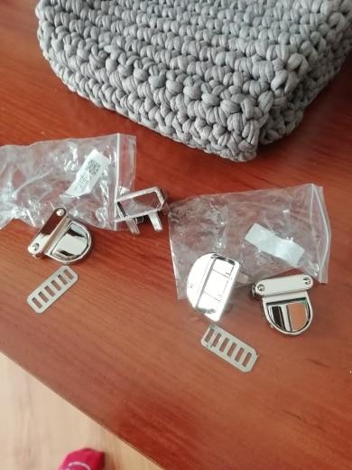 Metalen sluiting Turn Lock Twist Lock voor DIY Handtas Tas Portemonnee Hardware Sluiting Tas Twist Lock Clasp Turn Lock photo review