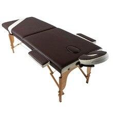 Двухсекционный складной профессиональный массажный стол Wellness