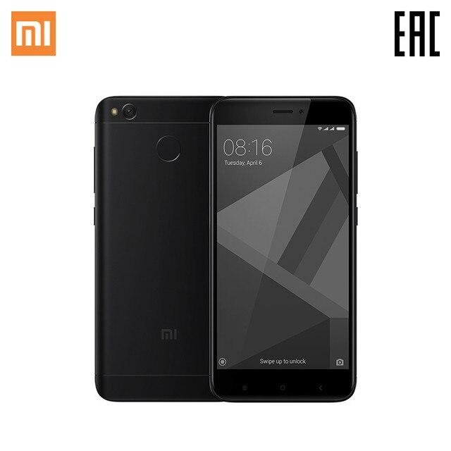 Смартфон Xiaomi RedMI 4X 32 ГБ Черный Официальная гарантия 1 год