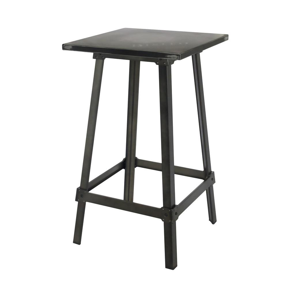 цена AMELIE BISTRO BAR TABLE ANTIQUE BLACK онлайн в 2017 году