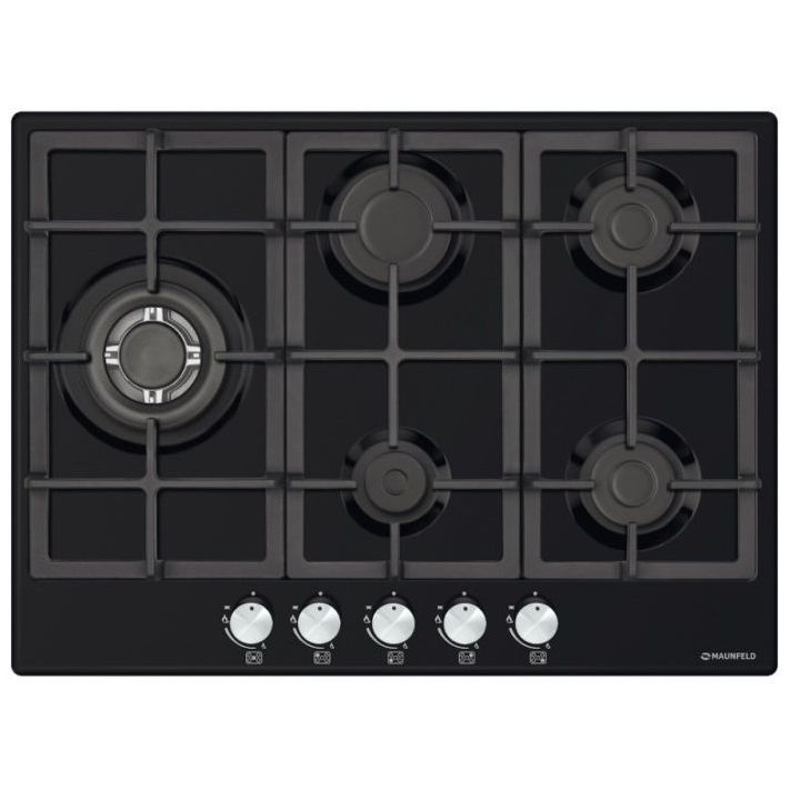 Cooking panel MAUNFELD EGHE.75.33CB/G Black cooking panel maunfeld eghe 64 43cw g white