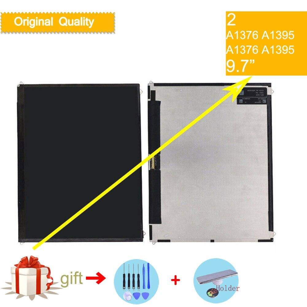 LCD d'origine pour Apple ipad 2 A1395 A1396 A1397 remplacement d'écran d'affichage à cristaux liquides pour ipad 2 écran d'affichage à cristaux liquides pour l'affichage d'ipad 2