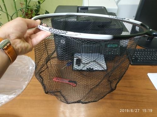 Rede de pesca Titânio Acessórios Cabeça
