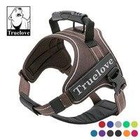 Truelove Large No Pull Dog Harness 3M Reflective Collar And Harnesses Service Dog Belt German Shepherd Pit Bull Pet Shop