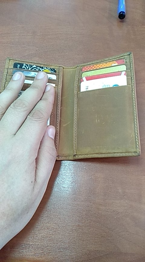 RFID Blocking Genuine Leather Men Card Holder Male Credit Card Case Bank ID Card Bag Luxury Wallet High Quality Porte Carte photo review