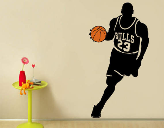 Decal Us7 Sticker Ww 23 Jordan 20Off Bulls 12 Decoration Basketball Removable Sport 434 wall Kids Room Art Poster Michael Vinyl In Player For Wall bf76gYy