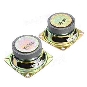 Image 4 - Novo elegante mini individualidade diy transparente mini amplificador alto falante kit 65x65x70mm 3 w por canal