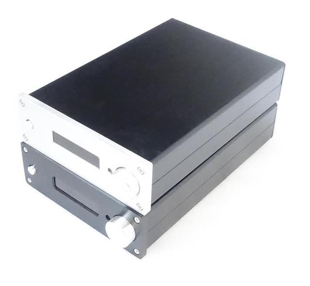 BZ1706A All Aluminum Chassis Preamplifier Housing DIY Amplifier Case HiFi Pre amp Enclosure Box 172MM*60MM*251MM