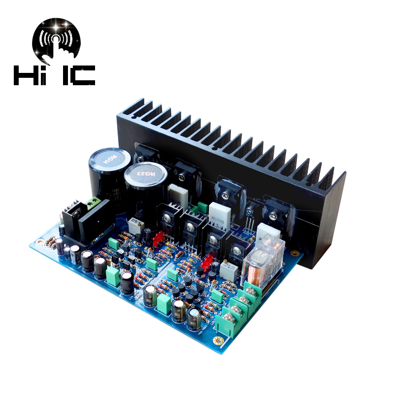 2018 A3 Replaces LM3886 Fully Symmetric Double Differential FET Power Amplifier Board DIY KITS Stereo High