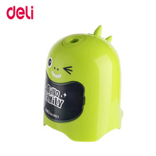 Deli cute automatic pencil sharpener school stationery Electric Pencil Sharpener Creative students office supplies stationery стоимость