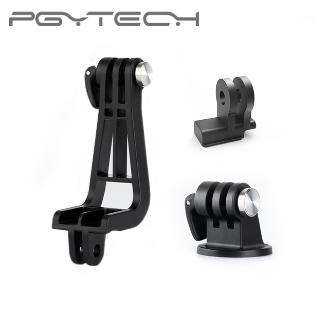 PGYTECH OSMO Pocket 2 Universal Mount Kit Action Camera L Bracket+ Universal Mount to 1/4/Data Port to Universal Mount