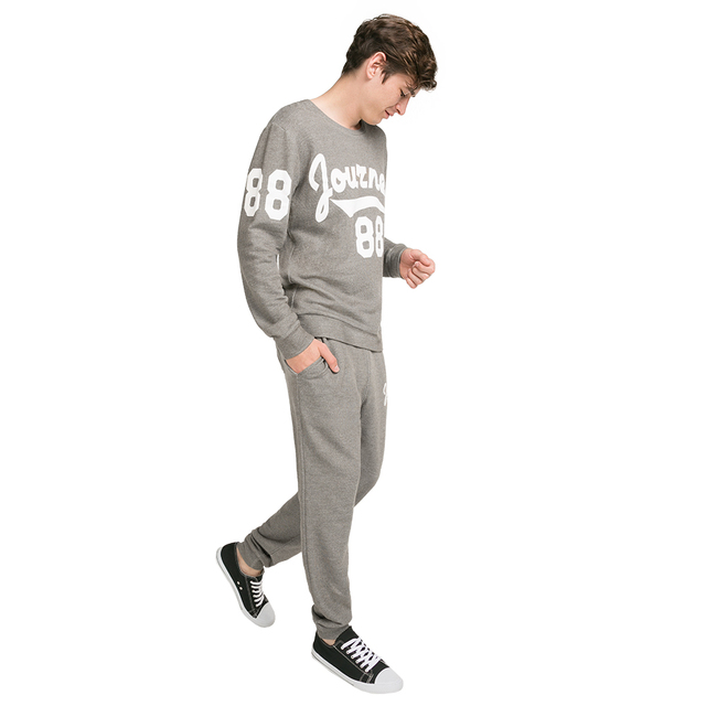 Gloria Jeans Мужские брюки-джоггеры на поясе и завязках BAC004015